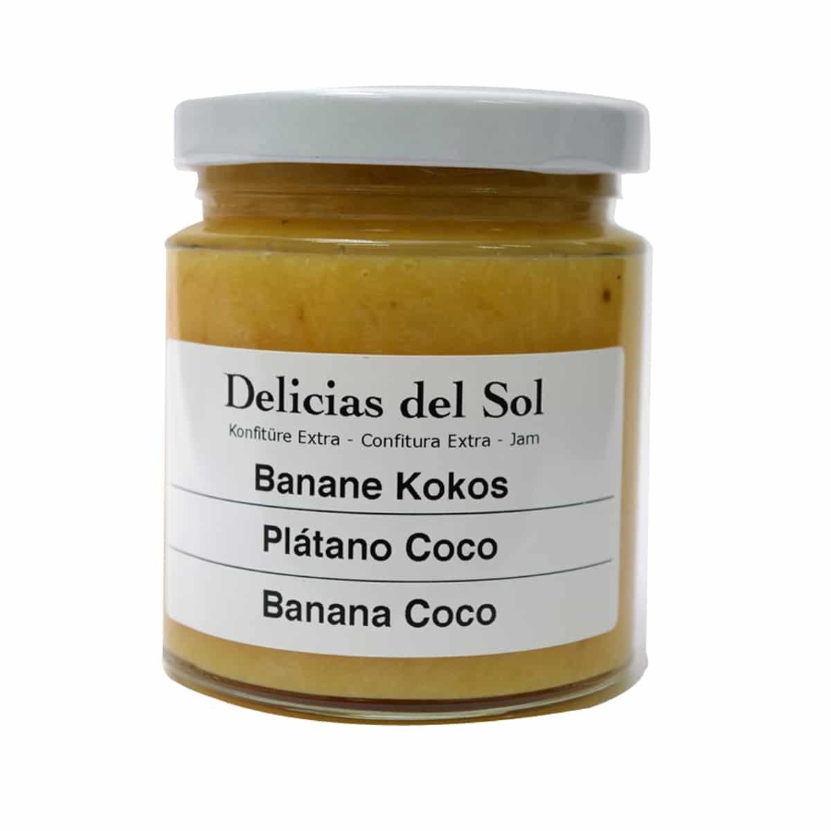 banane kokos delicias del sol. Black Bedroom Furniture Sets. Home Design Ideas
